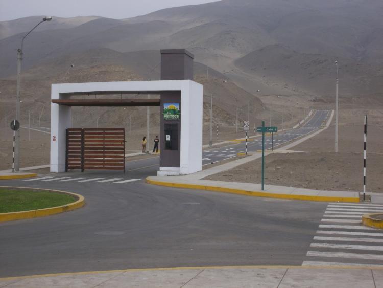 Terreno En Condominio Cerrado Alameda De Lima Norte Los Portales