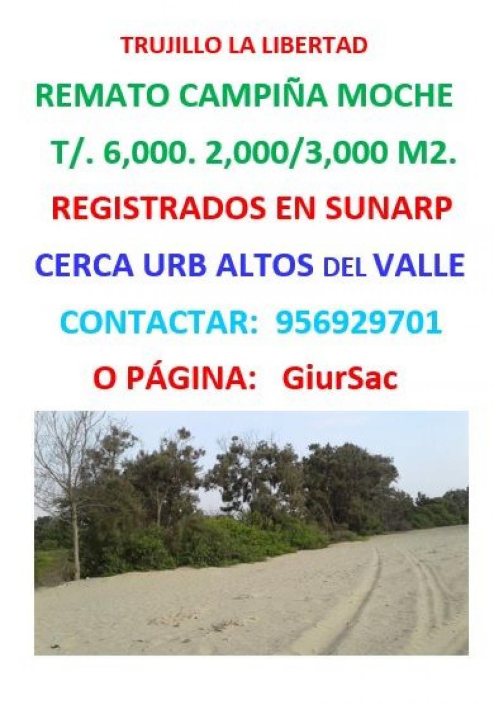 Terreno en Venta en Trujillo
