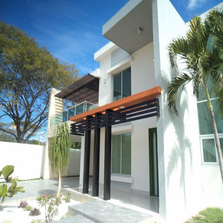 Hermosa Casa De Venta En Llanos De Gurabo Santiago Cav3312