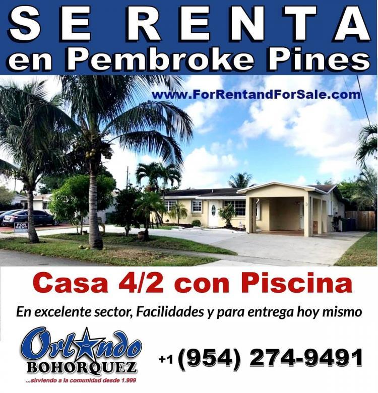 Foto Casa en Renta en Broward, Hollywood, Florida - U$D 2.800 - CAR2612 - BienesOnLine