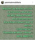 Anexo en Alquiler en  Maracay