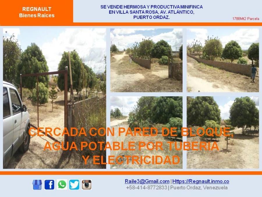 Foto Finca en Venta en Unare, Ciudad Guayana, Bol�var - BsF 2.500 - FIV115040 - BienesOnLine