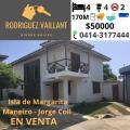 Casa en Venta en Jorge Coll Pampatar