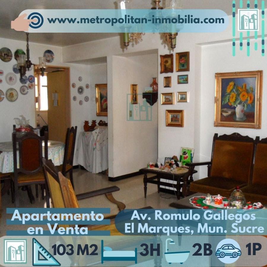 Foto Apartamento en Venta en Urbanizaci�n El Marques, El Marques, Distrito Federal - BsF 55.000 - APV143682 - BienesOnLine